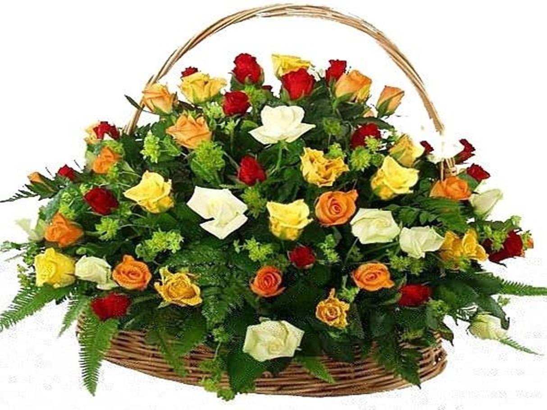 Panier De Fleurs Fraîches : Novembre marie anne kucera
